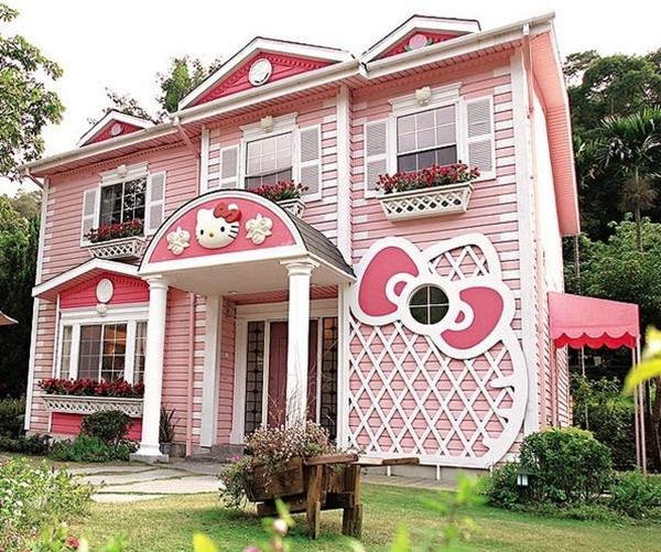 House design inside out house in tokyo japan home design - Hello Kitty Sweet Hello Kitty House
