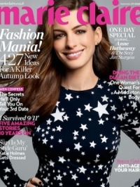 Anne Hathaway Talks Heartbreaks and Loving Again with 'Marie Claire' UK