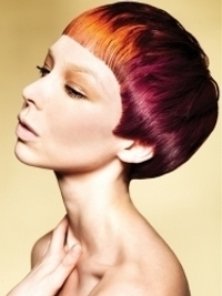 Funky Multi-Tonal Hair Color Effects