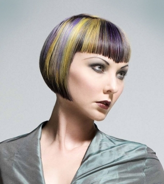 hair with style funky multi tonal hair color effects 6258