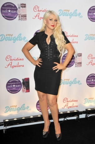 Christina Aguilera Givenchy Dress