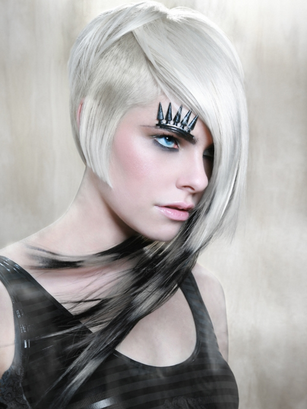 Color Styles For Long Hair: Edgy Hair Color Trends To Try
