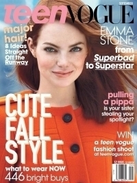 Emma Stone Covers Teen Vogue September 2011