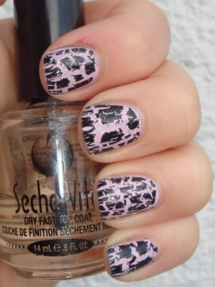 Crackle Nail Art