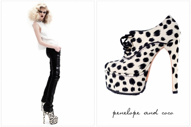 Penelope and Coco Fall/Winter 2011 Shoe Collection