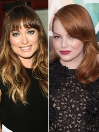 Emma Stone and Olivia Wilde are the New Revlon Ambassadors
