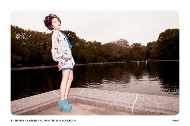 Jeffrey Campbell Uptown Girl Fall/Winter 2011 Lookbook