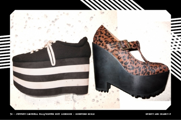 Jeffrey Campbell Downtown Girl Fall/Winter 2011 Collection