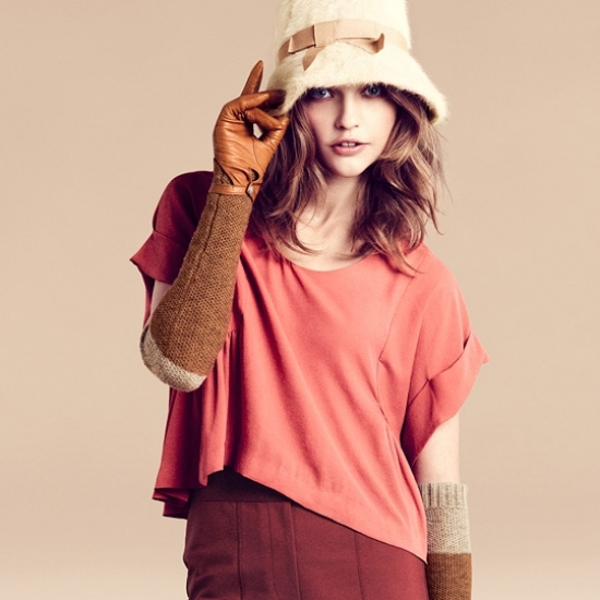 Sasha Pivovarova for H&M Fall 2011