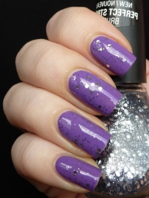 Purple Nail Color