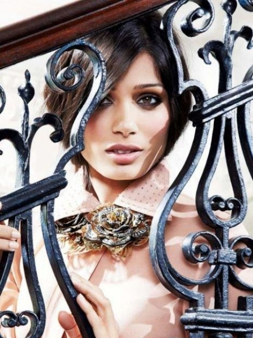 Freida Pinto Covers InStyle UK September 2011