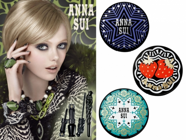 Anna Sui Makeup Fall 2011