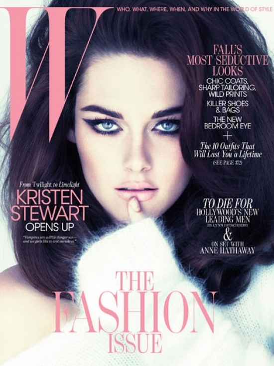 Kristen Stewart Covers W Magazine September 2011