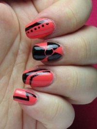 Chic Autumn Nail Art Ideas