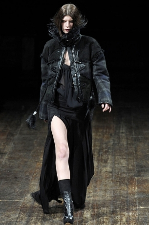 Fall/Winter 2011 Edgy Chic Fashion Trend