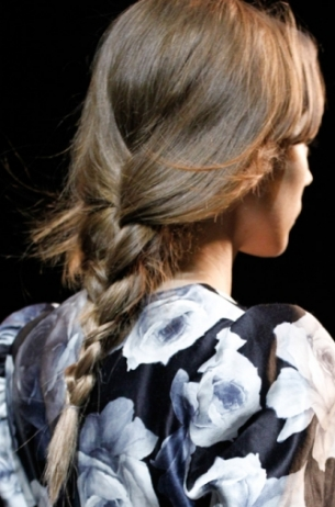 Fall 2011 DIY Braided Hairstyles