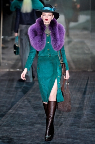 Fall/Winter 2011-2012 Bright Colors Trend