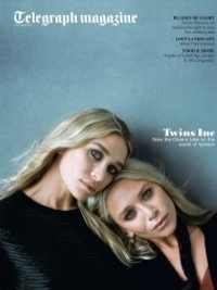 Ashley and Mary-Kate Olsen Cover UK Telegraph