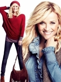 Reese Witherspoon in 'California Denim' for Lindex