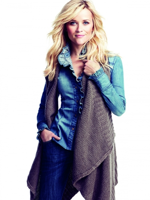 Reese Witherspoon in California Denim for Lindex