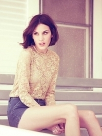 Alexa Chung for Madewell Fall 2011 Ad Campaign
