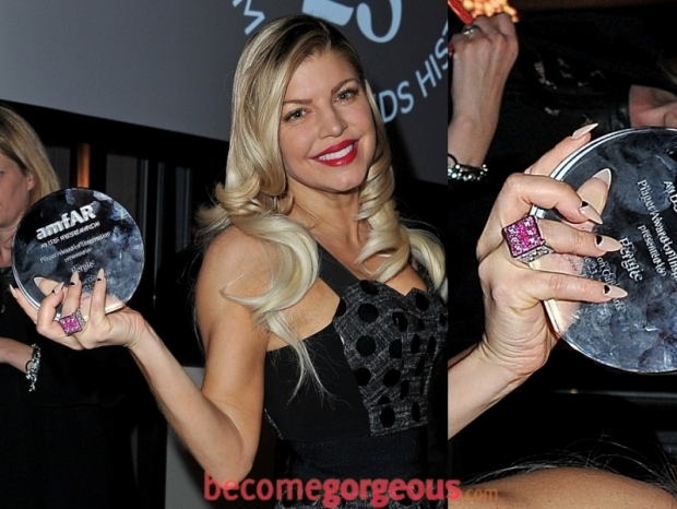 Fergie long nail designs