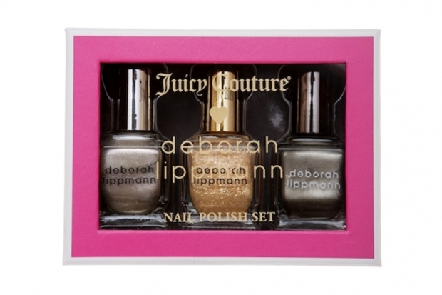 Juicy Couture x Deborah Lippmann Holiday Nail Polishes 2011