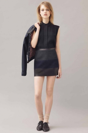 Sandro Fall 2011 Lookbook