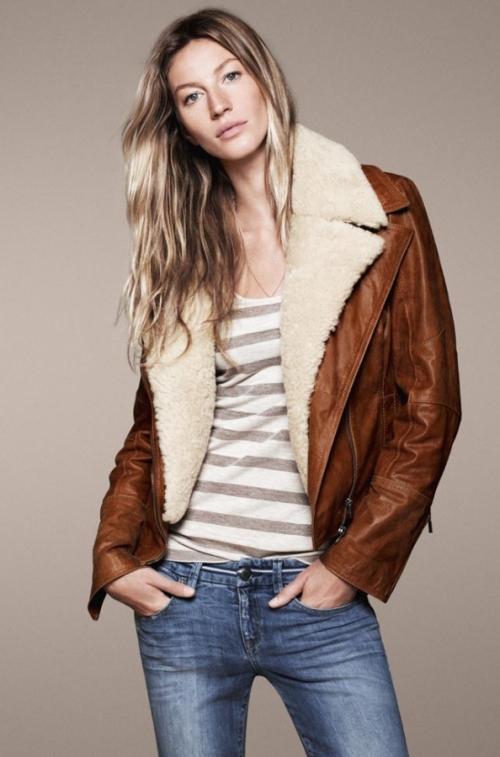 Gisele Bündchen for Esprit Fall/Winter 2011 Campaign