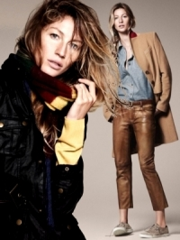 Gisele Bundchen for Esprit Fall/Winter 2011 Campaign