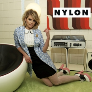 Dianna Agron Covers Nylon January 2012
