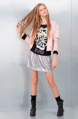 Bershka December 2011 Lookbook
