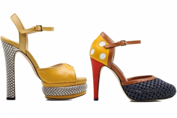 Chrissie Morris Spring 2012 Shoes