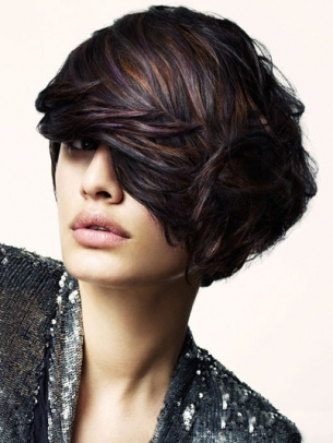 Stylish Medium Hairstyle Ideas 2012