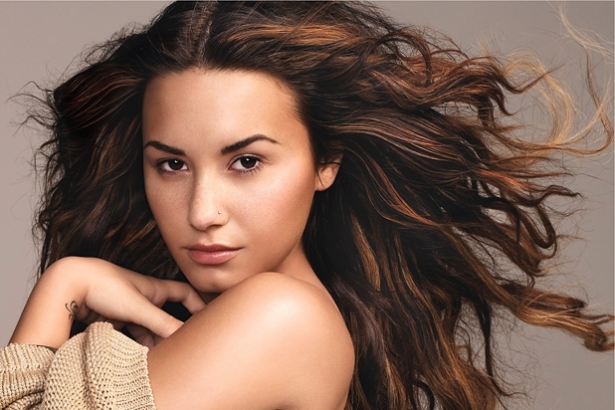 Demi Lovato for Glamour January 2012