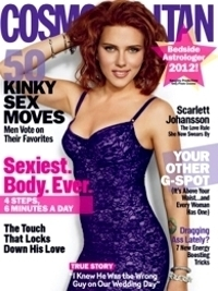Scarlett Johansson Talks Divorce from Ryan Reynolds with Cosmopolitan January 2012