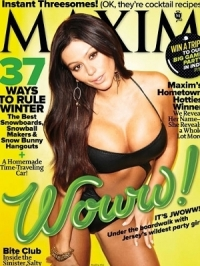JWoww Talks Jersey Shore and More with Maxim January 2012