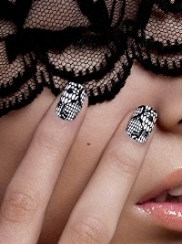 New Nail Rock Nail Wrap Designs