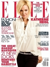 Katherine Heigl Covers Elle January 2012
