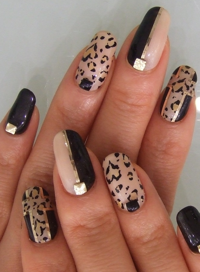 Fashion forward nail art ideas animal print nail art prinsesfo Images