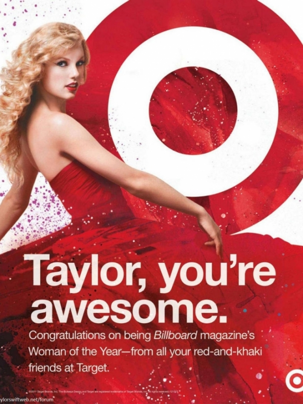 Taylor Swift Covers Billboard