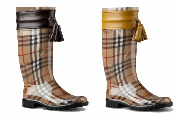 burberry rubber boots 2012 winter set3 thumb - Burberry'den Rubber Botlar