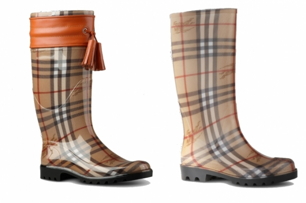 burberry rubber boots 2012 winter set4 thumb - Burberry'den Rubber Botlar