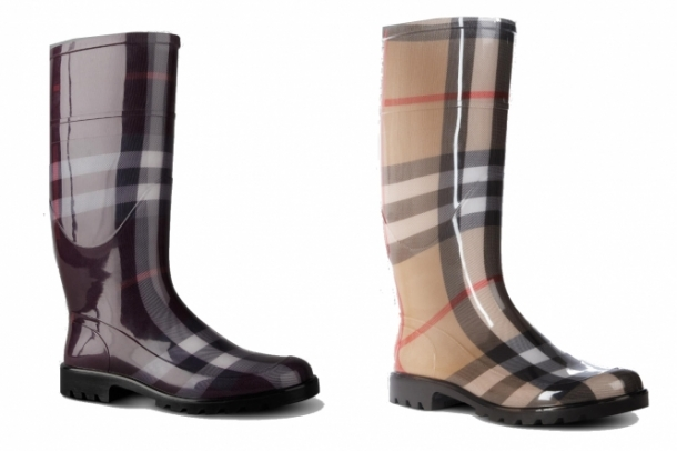 Burberry Rubber Boots Winter 2011-2012