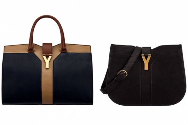 Yves Saint Laurent Spring 2012 Bags