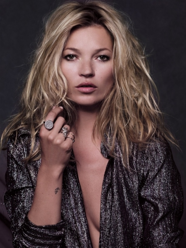 Kate Moss for Fred Jewelry Fall/Winter 2011/2012 Ad Campaign