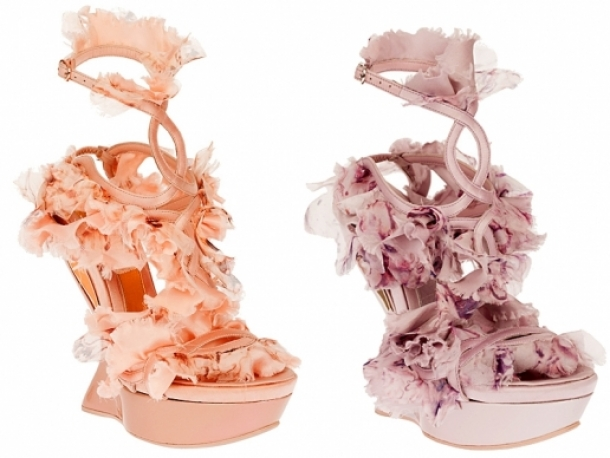 Alexander McQueen Spring 2012 Shoes