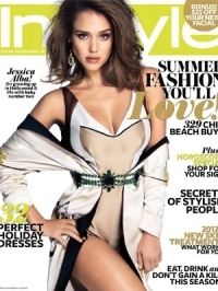 Jessica Alba Covers InStyle Australia January 2012