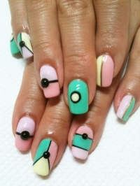 Bright and Bold Nail Art Ideas