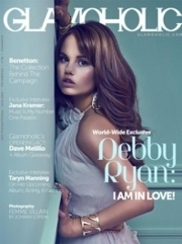 Debby Ryan Covers 'Glamoholic' December 2011